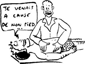 douleurs lombaires lors prise en charge en ostéopathie
