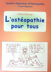 photo d'une bande dessinée sur l'osteéopathie
